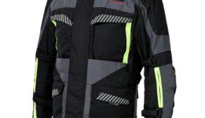 Atlas Motowear Oceanis 4 Mevsim Motosiklet Montu Gri Neon Sarı