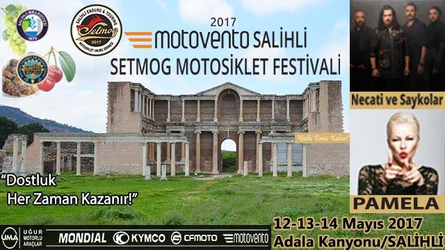 3.MOTOVENTO SETMOG SALİHLİ ENDURO VE TOURİNG MOTOFEST