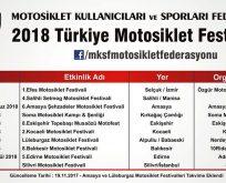 2018 Motosiklet Festivalleri Hangi Tarihte ? Nerede ?(Güncel)