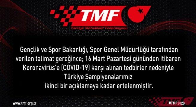 Türkiye Şampiyonaları İle İlgili Önemli Duyuru