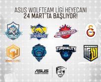 ASUS Wolfteam Ligi, 24 Mart'ta başlıyor
