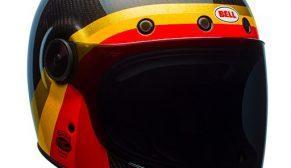 Bell Helmets Bullitt Carbon Chemical Candy Karbon Fiber Kask
