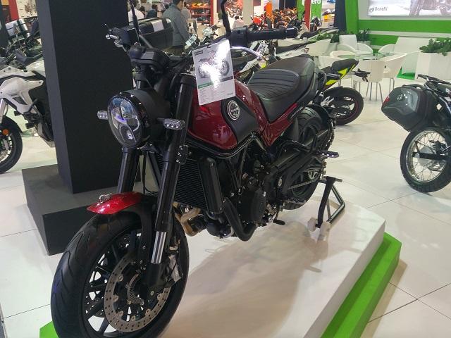 2018 Motobike İstanbul Fotoğrafları Benelli Leoncion 500