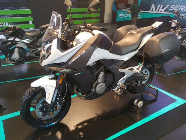 CF Moto 2018 Motobike İstanbul Fuarı'nda Yeni Modelleri ile Göz Doldurdu