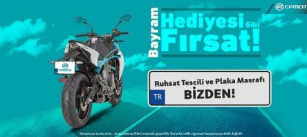 Bayram Hediyesi CF Moto'dan