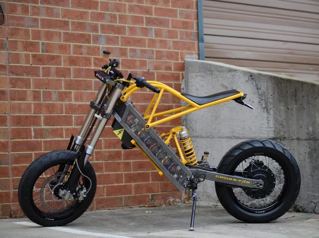 ExoDyn Elektrikli Motosiklet