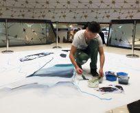 Dünyanın en ünlü üç boyutlu çizim ustası Philippenzo Madonnaro