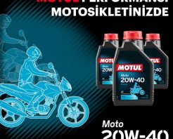 MOTUL PERFORMANSI TÜM MOTOSİKLERDE