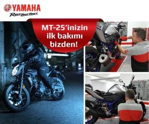 MT-25'inizin İlk Bakımı Yamaha'dan