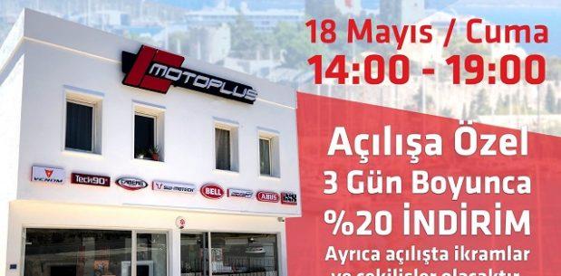 Motoplus Bodrum Açılıyor….