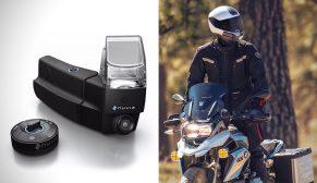 Motosiklet Kullanıcıları İçin Çok Fonksiyonlu Kask İçi İzleme Ekranı NUVIZ