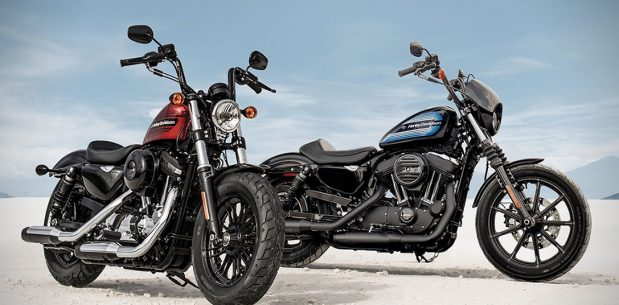 Sportster Forty Eight Special ve Iron 1200 (Harley-Davidson )