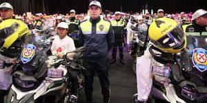 Emniyet ve Jandarma Birimlerine 284 Motosiklet Tahsis Edildi..