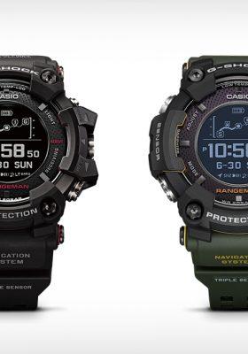 Güneş Enerjisi ile Şarj Olabilen Dünyanın İlk GPS Kol Saati Casio G-Shock Rangeman
