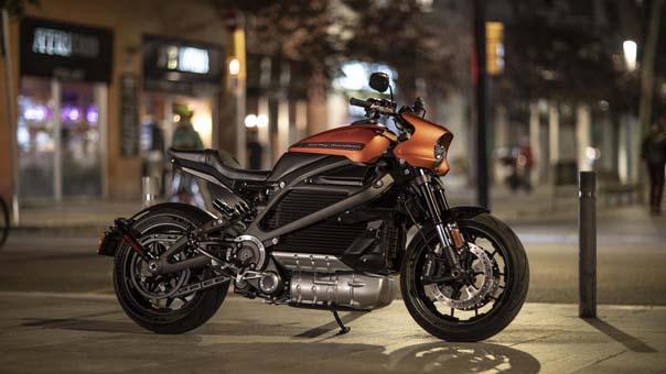Elektrikli Harley Davidson 2019 Ocak'ta Yollarda