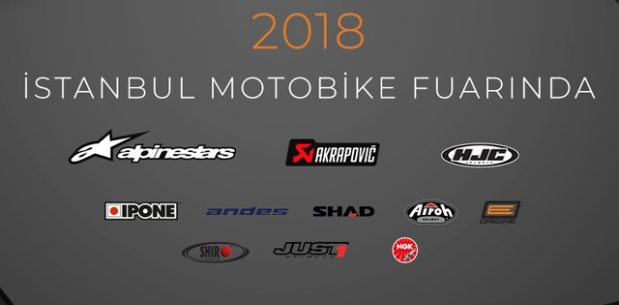 Motovento 2018 Motobike İstanbul Fuarında