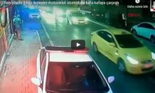 Kadıköyde Motosiklet Kazası