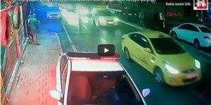 3 kişi bindikleri motosiklet ters yönde otomobille kafa kafaya çarpıştı