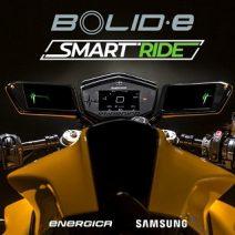 Energica'nın Samsung ile ortak projesi Bolid-E elektrikli motosiklet