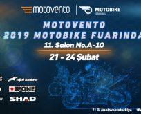 Motovento, 2019 İstanbul Motobike Fuarı'nda
