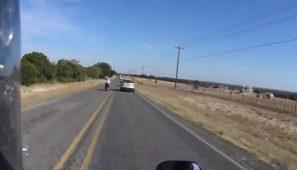 Motosiklete kasıtlı olarak vurdu. 15 yıl hapis cezasına çarptırıldı