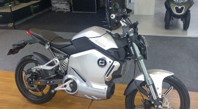 2018 Motobike İstanbul Fotoğrafları Super Soco