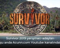 Survivor 2019'un başlangıç tarihi