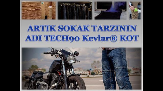 TECH90 Kevlar®Motosiklet Patolonu