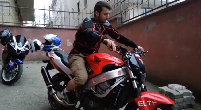 Motosiklet'te Tek Teker Nasıl Yapılır ?