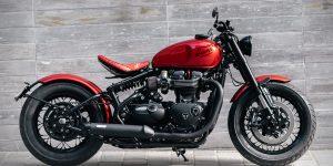 Triumph Bonneville Bobber Custom Motosiklet