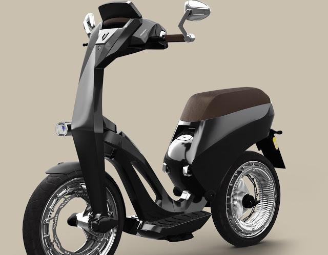 Ujet Katlanabilir Elektrikli Scooter