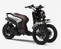 Yamaha'dan Üç Tekerlekli Off-Road Scooter