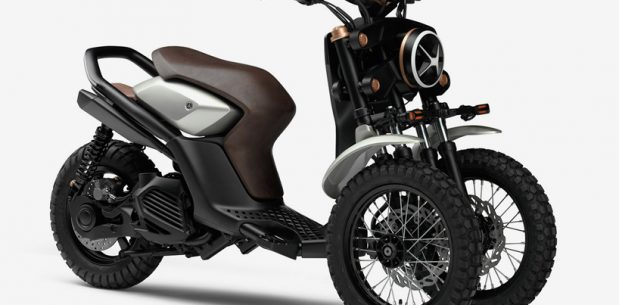 Yamaha'dan Üç Tekerlekli Off-Road Scooter