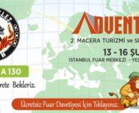 Motosikletclub Türkiye'nin ilk ve tek Macera Turizm ve Doğa Sporları Fuarında