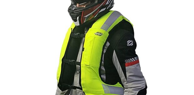 Motosiklet İçin Hava Yastıklı Yelek (%100 Yerli Malı)