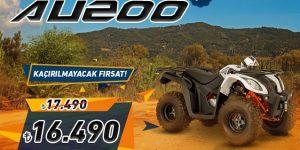 Mondial ATV 200 AU İndirimi!
