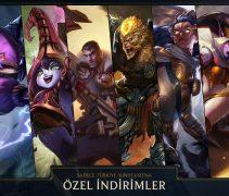 League of Legends  Türkiye Sunucusu'na Özel İndirimler Devam Ediyor!