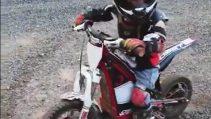 4 Yaşındaki Motocross'çu