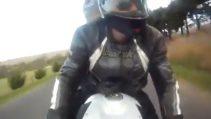 Motorcu Ölümden Döndü