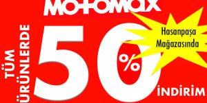 MOTOMAX %50 İNDİRİM KAMPANYASI ŞİMDİ MAĞAZADA