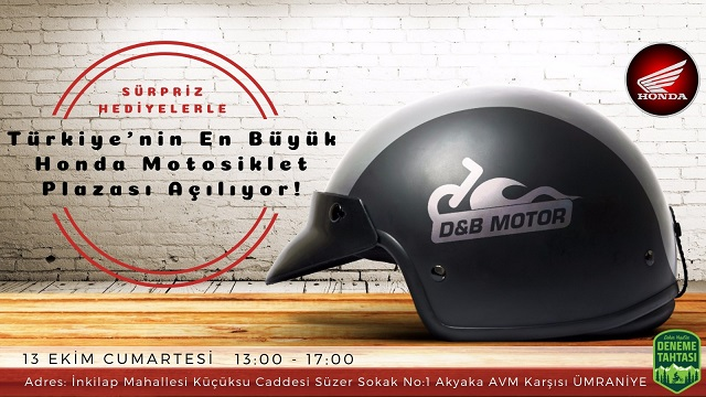 Türkiye'nin En Büyük Honda Motosiklet Plazası Açılıyor!