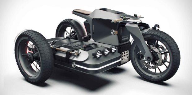 BMW x ESMC Adventure E-Motosiklet