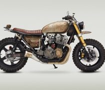 Honda CB750 Walking Dead