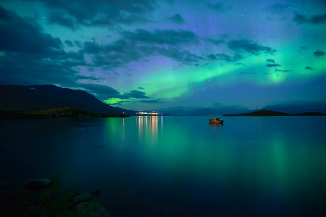 Kuzey ışıklarını izleyebileceğiniz en iyi 5 rota