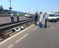 14.06.2017 Merter'de Feci Motosiklet Kazası : 1 Ölü