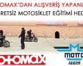 Motomax'dan alışveriş yapanlara ücretsiz motosiklet eğitimi hediye