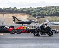İşte F-16 ile Kenan Sofuoğlu yarışının galibi…