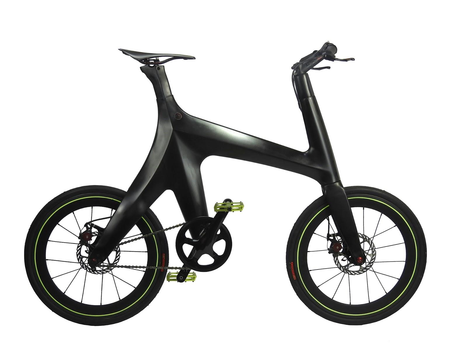 Karbon Fiber Kadrosu ve Eşsiz Tasarımı ile MINIMAL BIKE