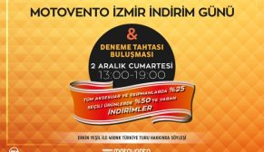 Motovento İzmir İndirim Günü