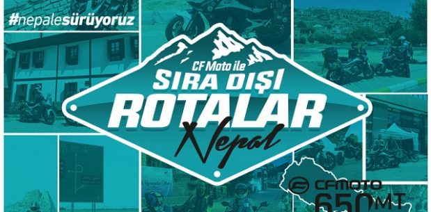 650 MT ile Nepal'e Sürüyoruz Projesi Tüm Hızıyla Devam Ediyor